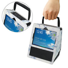 Portable Faux Leather Protection Carry Handle Case Cover for Amazon Echo Show