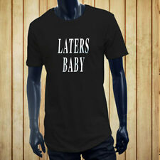 LATERS, BABY  50 SHADES OF GREY DARKER LOVE LUST Men Black Extended Long TShirt