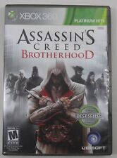 Assassin's Creed: Brotherhood Platinum Hits (Xbox 360, 2010) Cleaned & Tested!