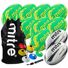 Mitre Sabre Rugby Club Pack including Cones, Pump, Bag, Training and Match Balls