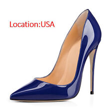 SELL OFF 12cm High Heels Wedding Shoes Women's Pumps Pointed Toe Stiletto Heels