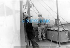 USN1413 WWII Guadalcanal Sailors On Deck