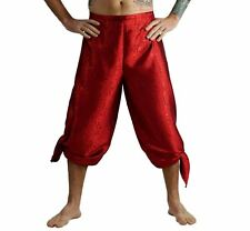 'SILK WRAP PANTS' Renaissance - RED