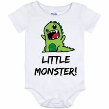 Little Monster! Kids Child Baby Toddler Dinosaur Lizard Cute Outfit
