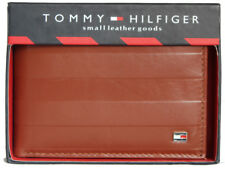 Tommy Hilfiger Black Leather Men's Wallet 715 FREE SHIPPING