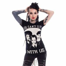"""Heartless """"Sit With Us"""" Ladies T-Shirt"""