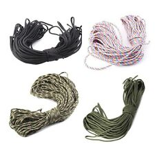 More 550 Paracord Parachute Cord Lanyard Mil Spec Type III 7 Strand Core100FT @E