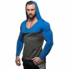 Mens Bodybuilding Hoodies Golds Gyms Clothing Workout Slim Fit Sweatshirts Male
