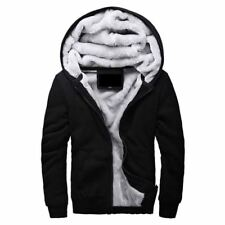 Hot Sale Men's Hooded Casual Brand Hoodies Clothing Wool Liner Mens Winter Thick