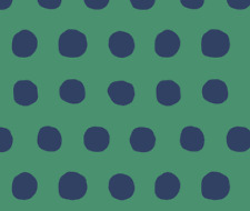 Decor Polka Dots Upholstery Green Fabric Printed by Spoonflower BTY