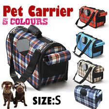 AU Small Pet Dog Cat Carrier bag Soft Crate Travel Carry Cage Portable Foldable