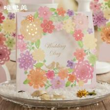 Wedding Floral Laser Cut Elegant Invitations Hollow Cards 12 Set Invitation