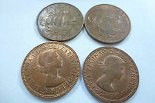 Queen Elizabeth II Half Penny coins - choose your year -1953 to 1967 (free post)