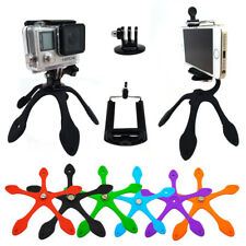 Mini Flexible Tripod Mount  Stand Holder for GoPro Android iPhone Digital Camera
