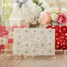 Wedding Laser Cut Lace Invitation White Invitations Cards Party Floral Card New