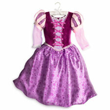 NWT Disney Store Rapunzel Costume Gown Dress Tangled the Series 4,5/6,7/8