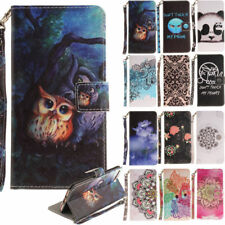 Cute Printed Pattern Leather Wallet Flip Magnetic Case Cover For Iphone 6 7 Plus