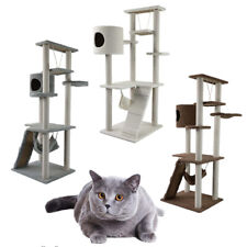 65 inch Cat Tree Bed Furniture Scratching Post Tower Condo Kitten Pet Play House