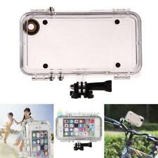 Extreme Sports Waterproof  IP68 Case Cover with 170° Wide Angle Lens for iPhone