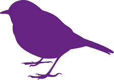 Window Wall Display Robin Finch Bird Silhouette Decal Vinyl Sticker Craft