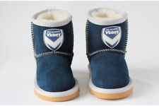 A-League Football Soccer Melbourne Victory KIDS Wool Ugg Boots Size Small - 2