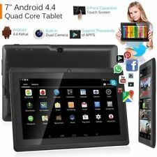 7 Inch HD Android Tablet 8GB Quad Core 1.30GHz Dual Camera Bluetooth Wifi Table[