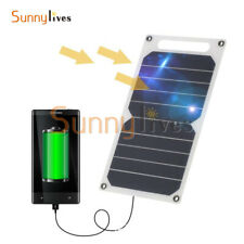Portable 10W 5V Solar Power Charging Panel USB Charger For Samsung IPhone Tablet