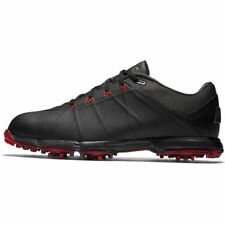 New - Nike Mens Lunar Fire Wide Golf Shoes- Black/Anthracite/University Red -NIB