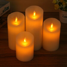Remote Control LED Electronic Flameless Candle Lights Flashing Lamp Party