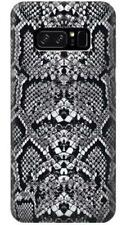 White Rattle Snake Skin Phone Case for Samsung Galaxy Note8 Note5 Note 4 3 2