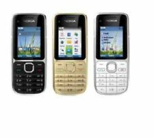 New Nokia C2-01 3G Sim Free Unlocked Bluetooth Mobile In Various Colours