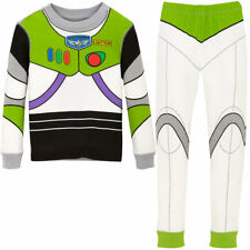 NWT Disney Store Buzz Lightyear Costume PJ Pal Pajama Set Toy Story Boys