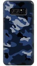 Navy Blue Camouflage Phone Case for Samsung Galaxy Note8 Note5 Note 4 3 2