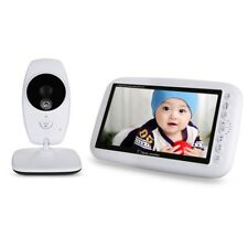 "7.0"" 2.4GHz Wireless Baby Monitor IP Carema Night Vision TFT LCD DualView Video"