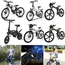 """26"""" Wheel Folding Electric Power Mountain Bike Adult Bicycle Lithium-Ion Battery"""