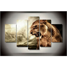 Animal Tiger Paintings Poster ABstract Modern Picture Canvas Wall Art Home Decor