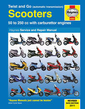 Haynes Repair Manual 4082 Twist and Go automatic transmission Scooters 50-250cc