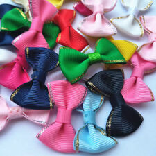 Grosgrain Satin Ribbon Heart English Bows Wedding Decoration Applique Craft