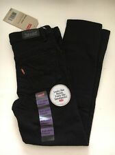 Levis Kids Girl Skinny Jeans Black NWT Size Regular 6 & 10, / NWT