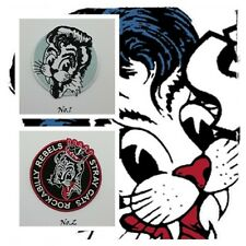 New Stray Cats Patch Sew Embroidered Iron On Rockabilly Band Music Free Shipping