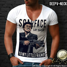 Scarface Shirt Al Pacino T-shirt Mens Tony Montana Drug Cocaine Boss Top MD589