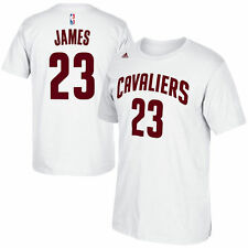 Adidas LeBron James Cleveland Cavaliers Name & Net Number T-Shirt Men's XL 2XL
