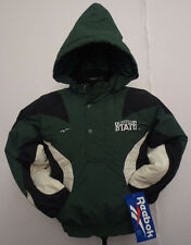 MICHIGAN STATE UNIVERSITY SPARTANS NCAA REEBOK YOUTH JACKET NWT BIG TEN
