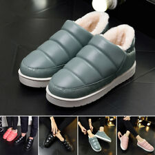 Women Fashion Warm Winter Snow Boots Fleece Lining Low Top Shoes Thick Indoor
