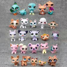 Littlest Pet Shop Rare Cat Dogs Big Eyes Hasbro LPS Lot Figure Animals Toys Gift
