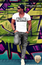 Cool Inverted Cross Shirt Forever Alone Tee Funny Slogan Fashion Tank Top MD679