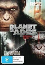 Rise of the Planet of the Apes / Dawn of the Planet of the Apes - DVD Region 4