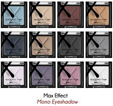 *SALE*L@@K* MAX FACTOR MAX EFFECT MONO EYE SHADOW - VARIOUS SHADES + FREE GIFT.