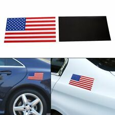 US Magnetic Sign Flag Decal America Car Flag Bumper Sticker Removable