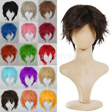 Free Shipping Wig Halloween Cosplay Full Wigs Costume Party Fancy Dress Wigs USA